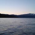夕刻の稜線